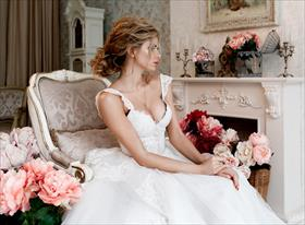 Фотосъемка невесты в фотостудии