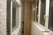 Остекление и отделка 6-ти метрового прямого балкона