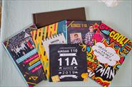 Школьные выпускные альбомы, семейные фотокниги. Подарочные сертификаты. Печать фотографий и магнитов на мероприятии