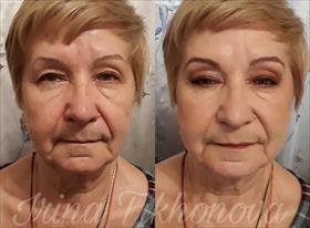 Возрастной макияж и укладка
