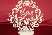 Свадебный герб на подставке