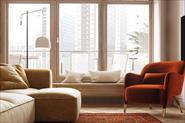 Интерьер квартиры в теплых тонах