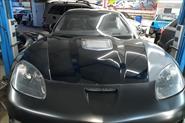 Восстановление автомобиля после сильного дтп а именно замена вклееных узлов из стекловолокна