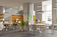 3D визуализация отделения банка