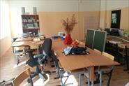 Уборка школьного класса после ремонта