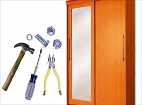 Ремонт шкафа, шкафа-купе, раздвижных дверей