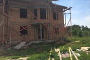 Строительство коробки дома 380 м2