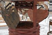 Изготовление домика для колодца