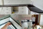 выклодка фартука на кухне, плюс ремонт коридора