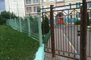 Ворота в Детском саду. Москва