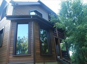 Строительство домов , устройство деревянных фасадов и террас