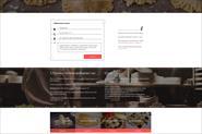 Дизайн для сайта онлайн доставки варенников