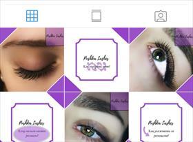 Работы с дизайном в Instagram