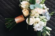 Декорирование свадьбы живыми цветами