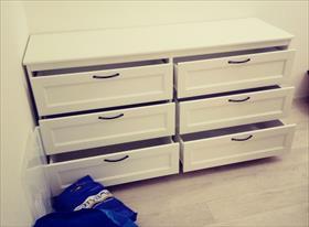 Сборка комода из Ikea