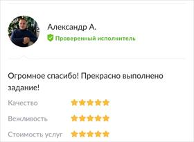 Примеры моих работ)