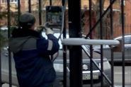 Монтаж электропривода на распашные ворота