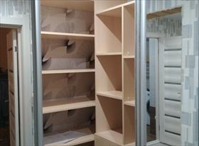 Изготовление гардеробных и  шкафов