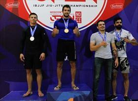 Первое место - Moscow International Open ibjjf jiu-jitsu championship 2018
