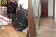 Самые грязные квартиры. До и после