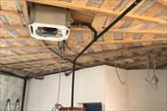 Работы по вентиляции и кондиционированию. Мотель Цыпа