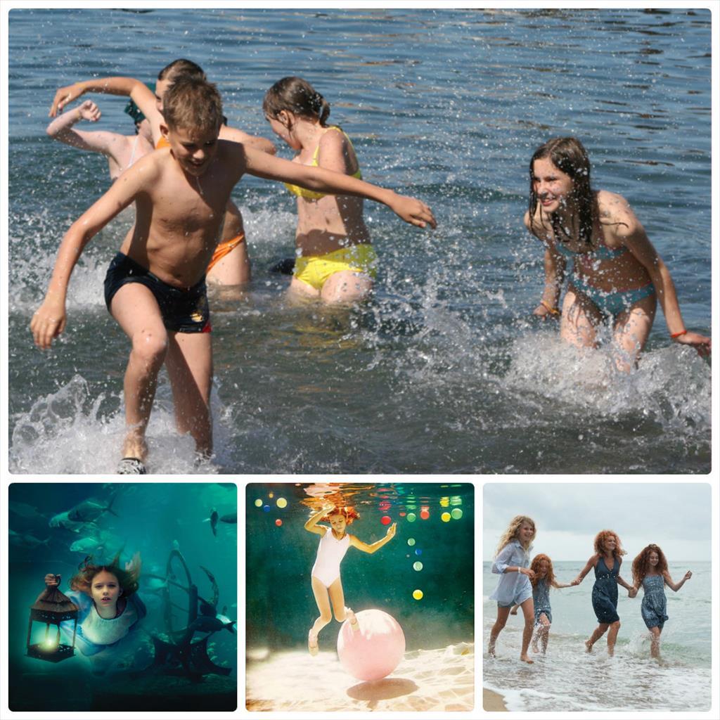 фотосессии в воде