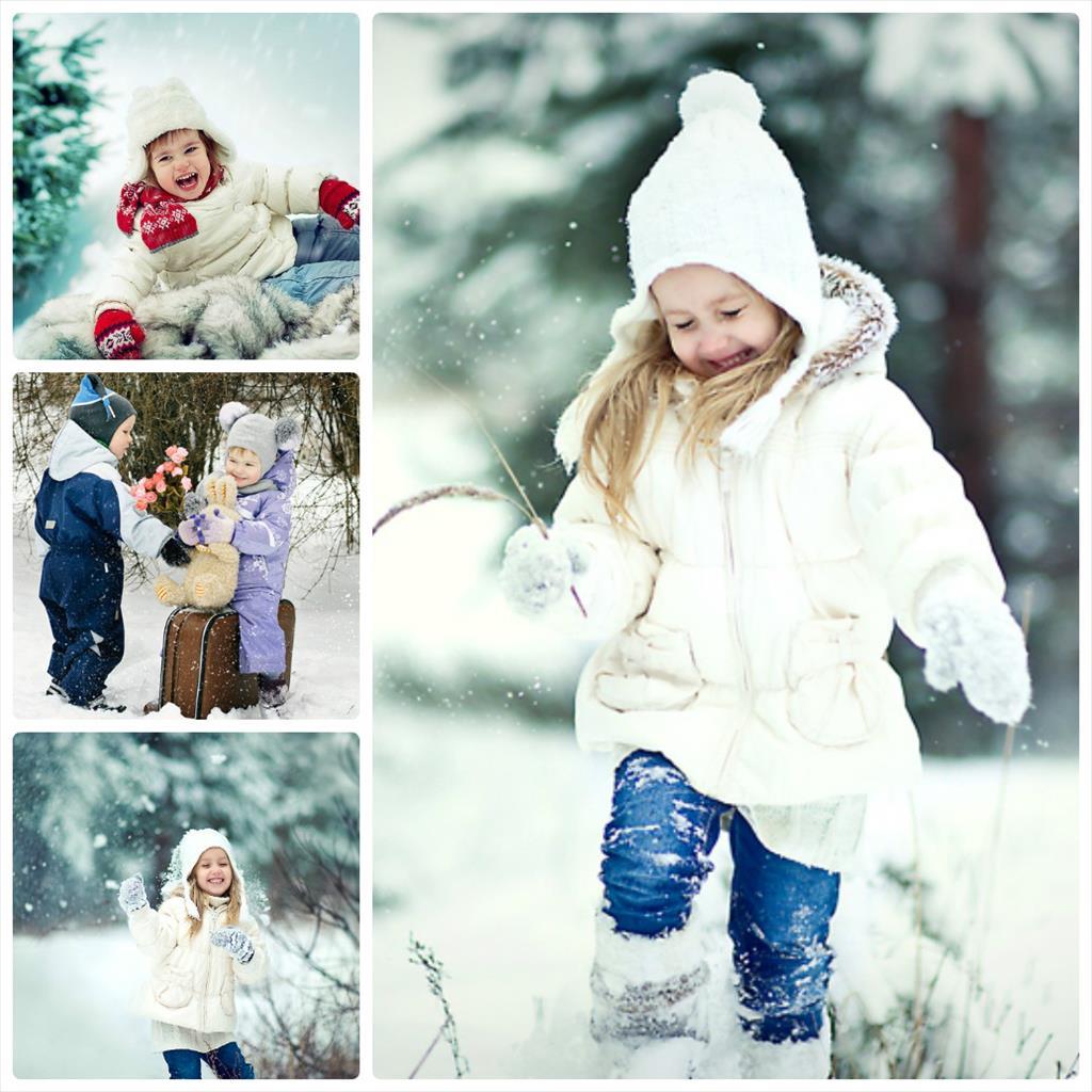позы для фотосессии девушки зимой