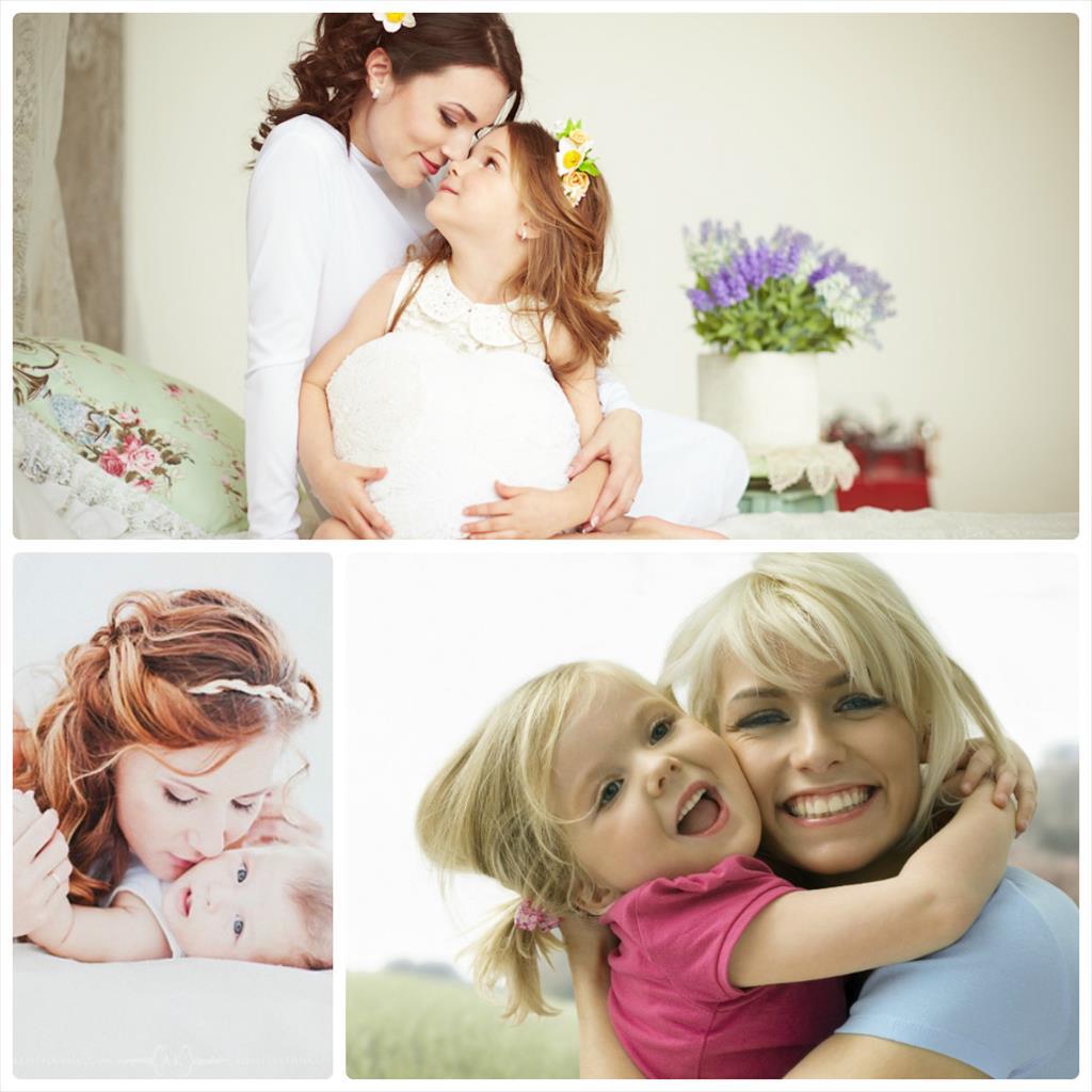 мама и малыш фотосессия