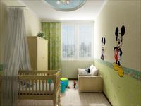 Варианты дизайна детской для младенца