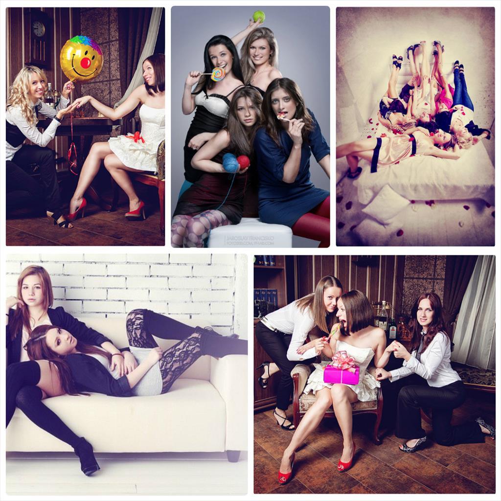 фотосессии для подруг в студии идеи
