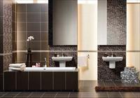 Варианты оформления ванной в коричневом цвете