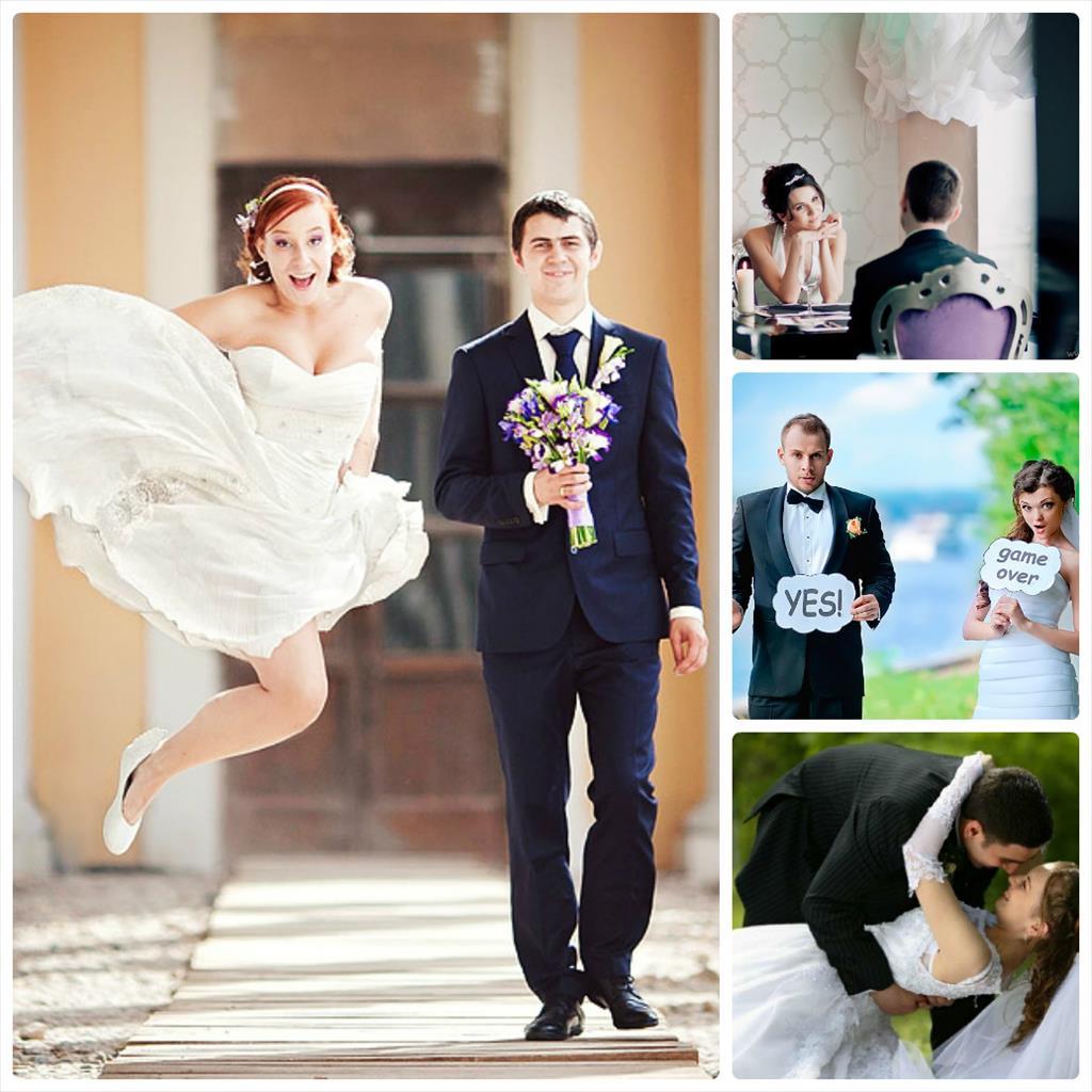 позы для невесты фотосессия