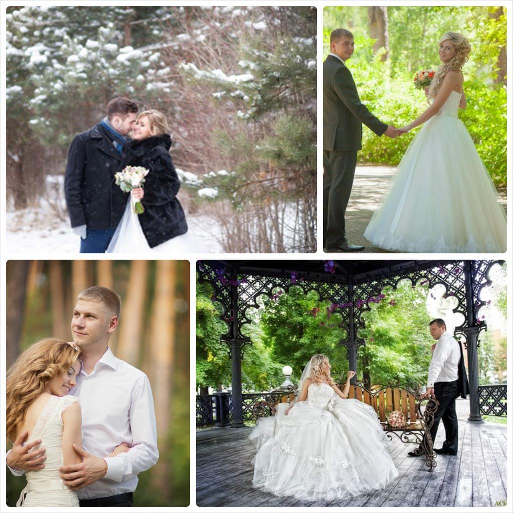 свадебная фотосессия в центре москвы