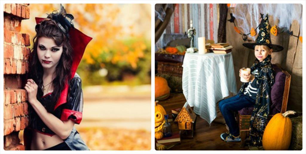 идеи для фотосессии поздней осенью