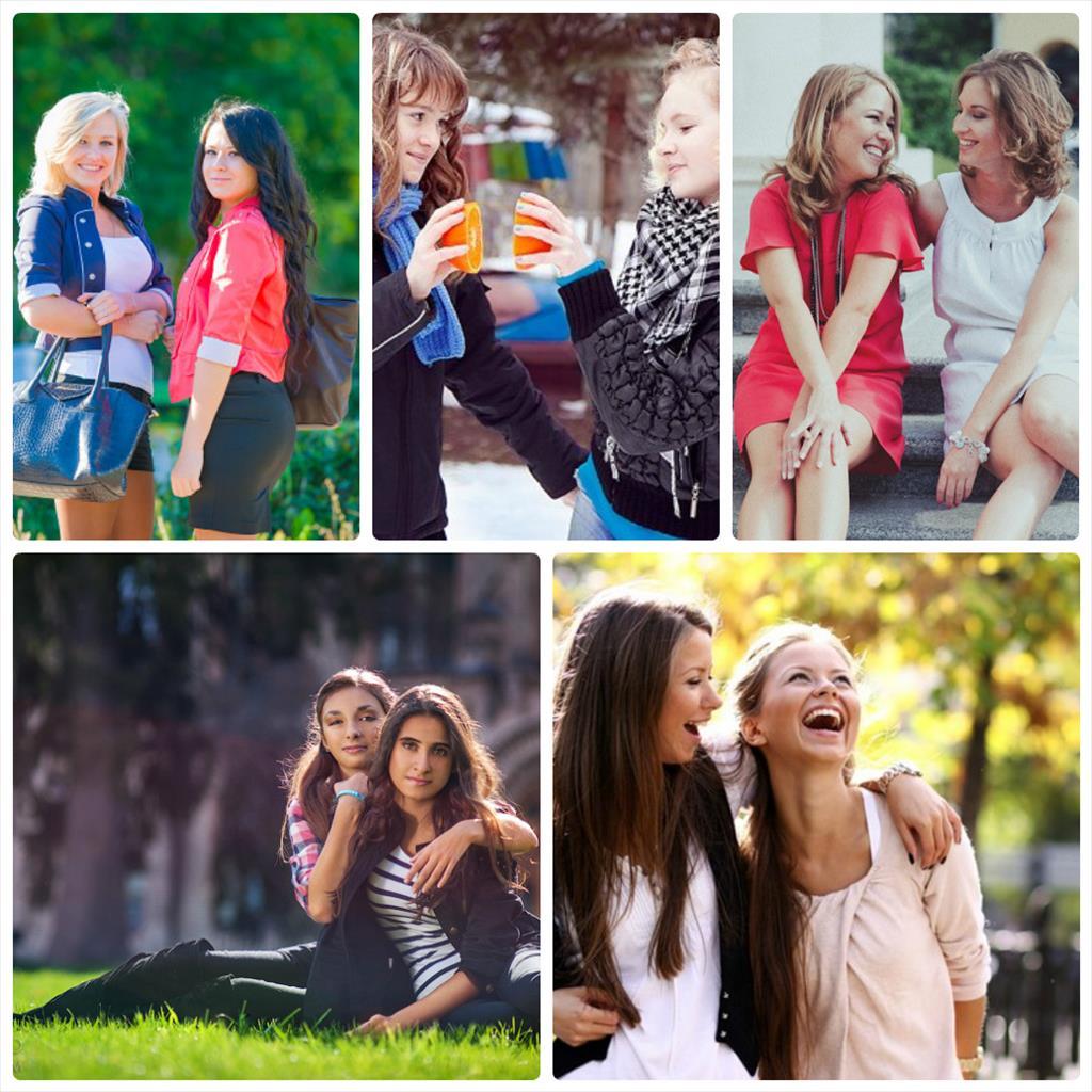 идеи для фотосессии подруг