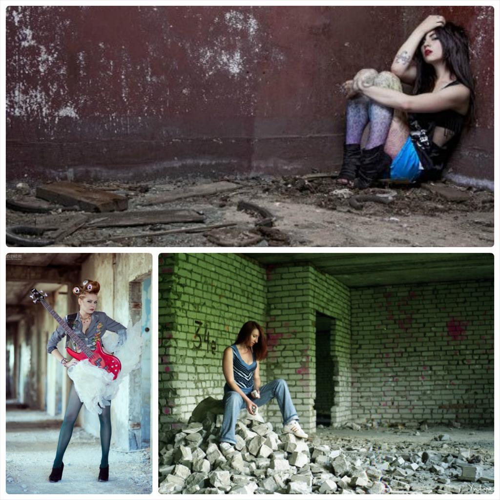 фотосессии в заброшенных зданиях идеи
