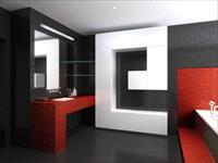 Выбор интерьера ванной в стиле хай-тек