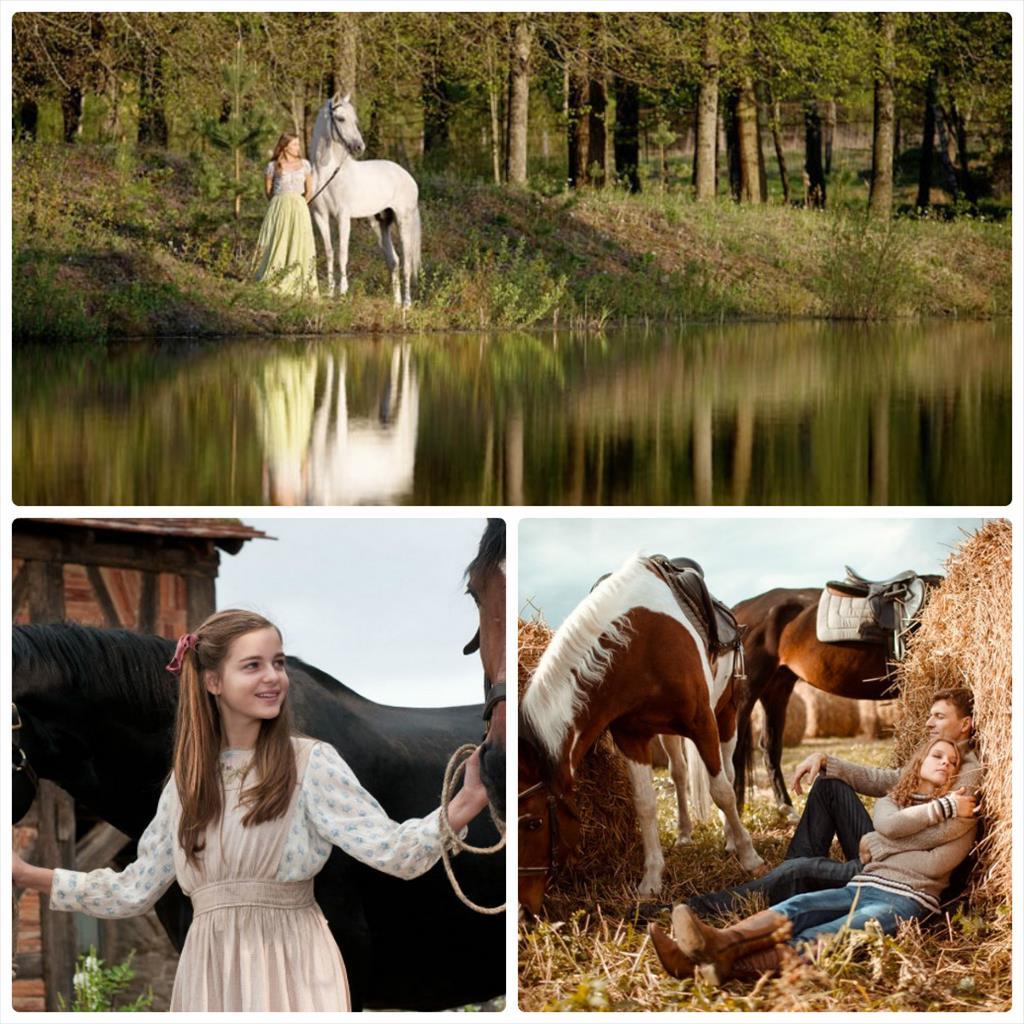 на лошади фотосессия